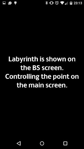 Labyrinth for YotaPhone 2 - screenshot