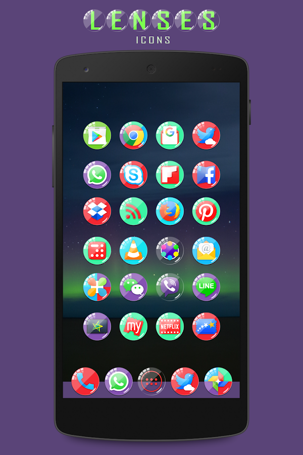 Lenses Icon Pack Screenshot 3