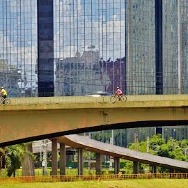 Sao Paulo SP Brazil by Marcello Toldi - City,  Street & Park  Street Scenes