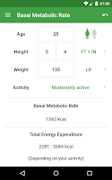 Screenshot of BMI Calculator – Ideal Weight