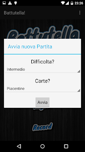 Battutella - screenshot