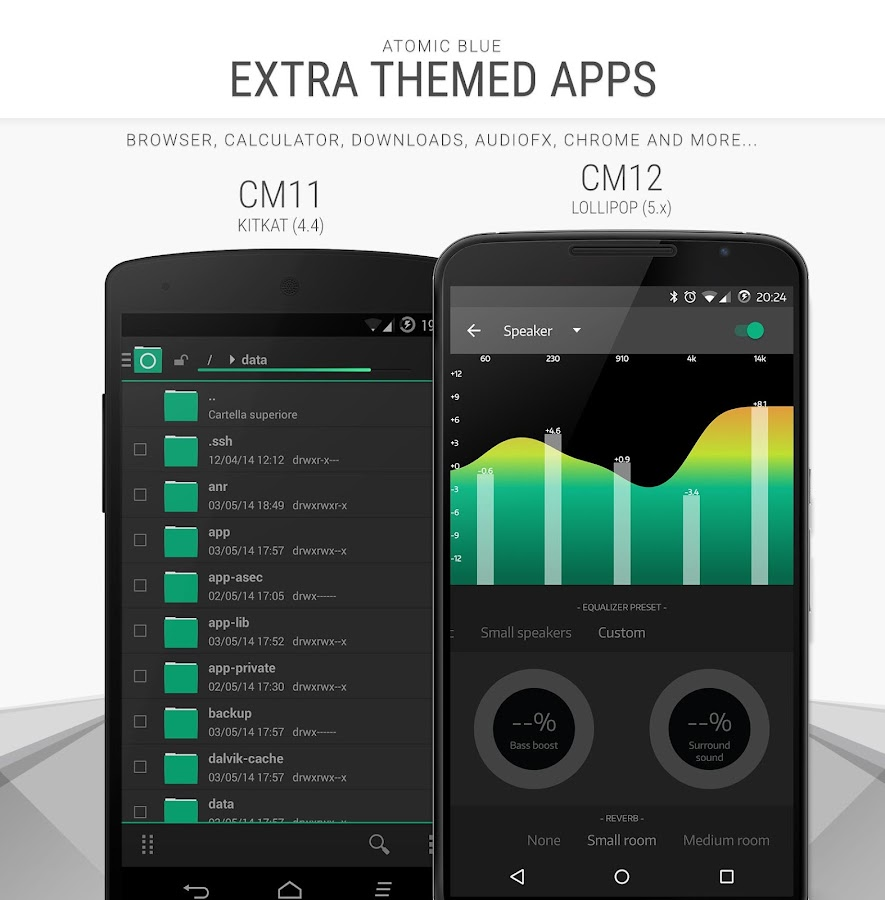 Atomic Green - CM12 CM13 Theme Screenshot 4