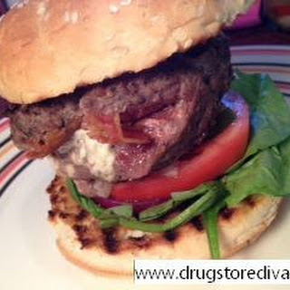Bacon & Blue Stuffed Burger