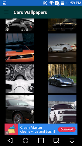 android Cars Wallpaper Screenshot 1