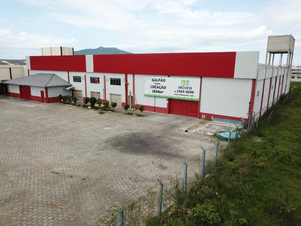 Galpão para alugar, 2650 m² por R$ 20.000,00/mês - Centro - Tijucas/SC