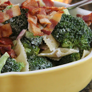 Broccoli & Grape Pasta Salad