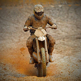 Mud Festival by Marco Bertamé - Sports & Fitness Motorsports ( uphill, mud, rainy, motocross, clump, mud pie, race, motoccycle, accelerating, competition,  )
