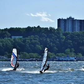 Wind Walkers by Gary Ambessi - Sports & Fitness Surfing