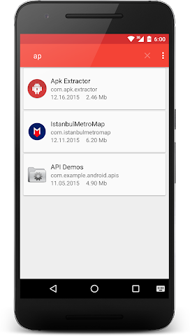 android APK Extractor Screenshot 2