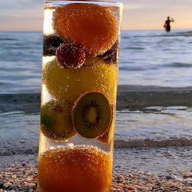 Drink among the sea shells by Jeffrey Lee - Food & Drink Fruits & Vegetables