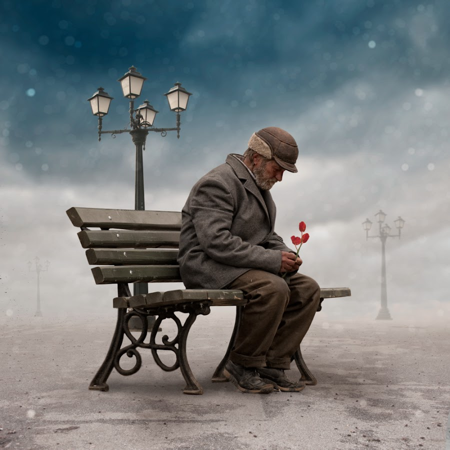 The lyrics are only for my soul by Caras Ionut - Digital Art Places