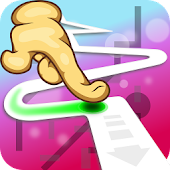 Game Follow the Line 2D Deluxe APK for Kindle
