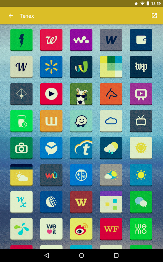 Tenex - Icon Pack Screenshot 15