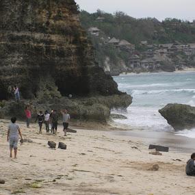 Dreamland beach Bali by Wayne Duplessis - Landscapes Beaches ( water, bali, vacation, indonesia, dreamland, beach )