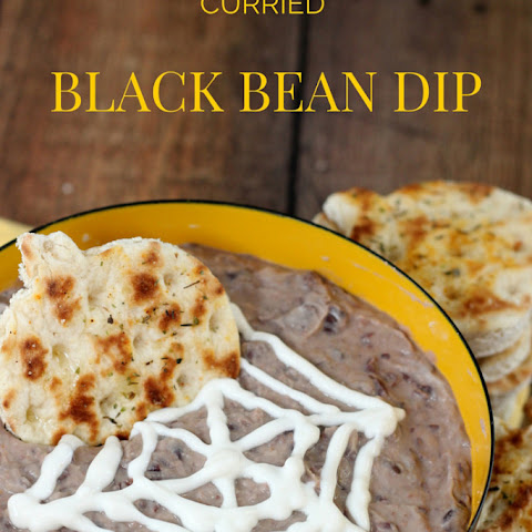 Curried Black Bean Dip