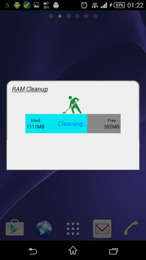 RAM Cleanup Screenshot 1