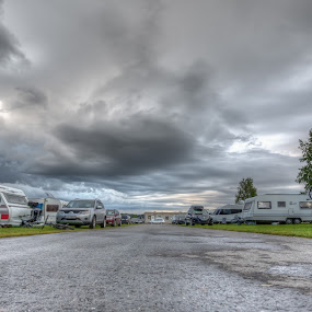 My street by Benny Høynes - City,  Street & Park  Street Scenes ( holiday, caravans, hdr, camping, street )