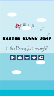 Easter Bunny Jump - screenshot