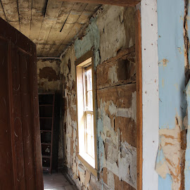 by Liz Huddleston - Buildings & Architecture Decaying & Abandoned ( bannack, bannack ghost town, ghost town, montana )