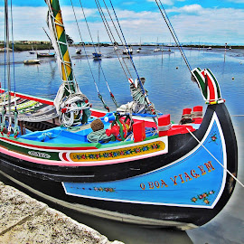 by Ana Arroseiro - Transportation Boats ( boats, transportation )