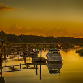 After the Storm by Keith Wood - Landscapes Waterscapes ( kewphoto, after the storm, yellow, beaufort sc, keith wood )