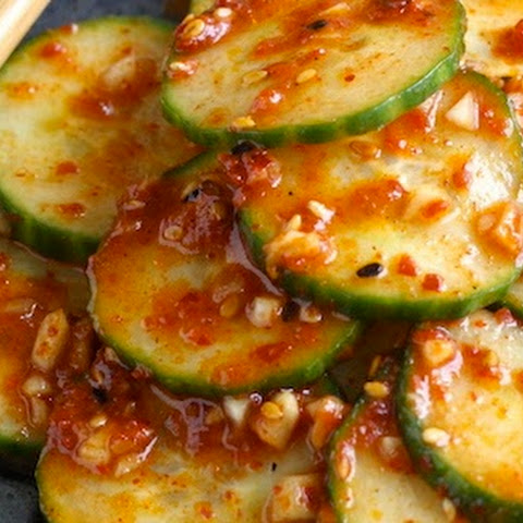 Spicy Korean Cucumber Salad (Oi-Muchim)