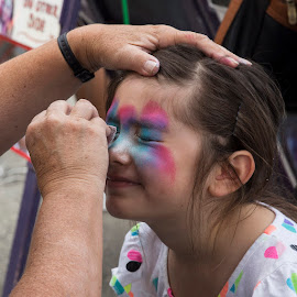 Face Painting by Janet Marsh - Babies & Children Children Candids ( millbraeart, face painting )