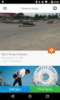 Screenshot of SkateSpots