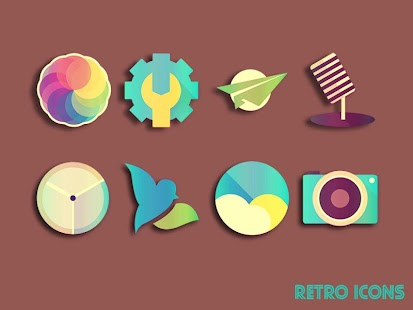 RETRO ICONS Pack Screenshot