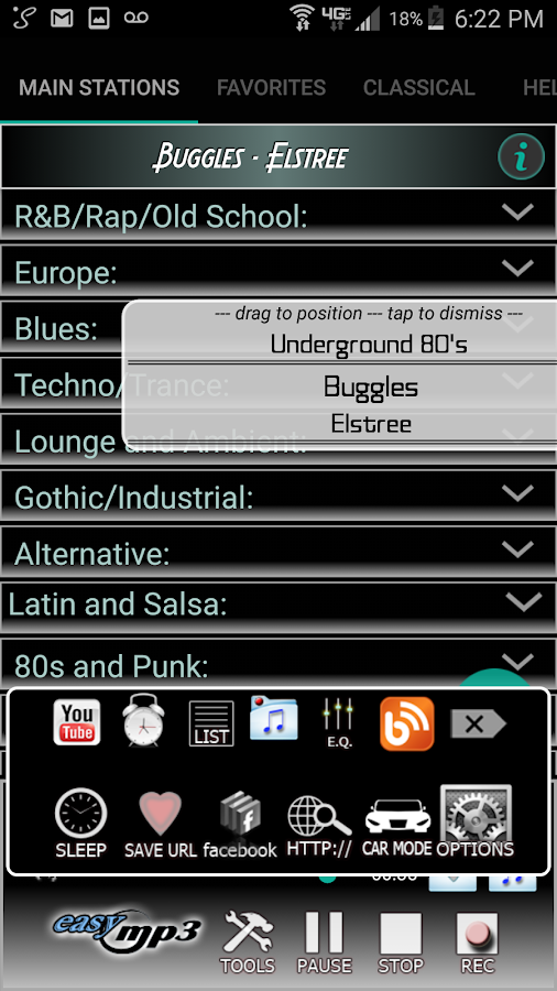 Internet Radio Recorder Pro Screenshot 1