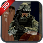 Commando FPS Modern Action Sim Icon