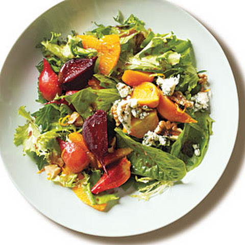 Blood Orange Salad with Gorgonzola, Pecans and Baby Greens Recipe ...