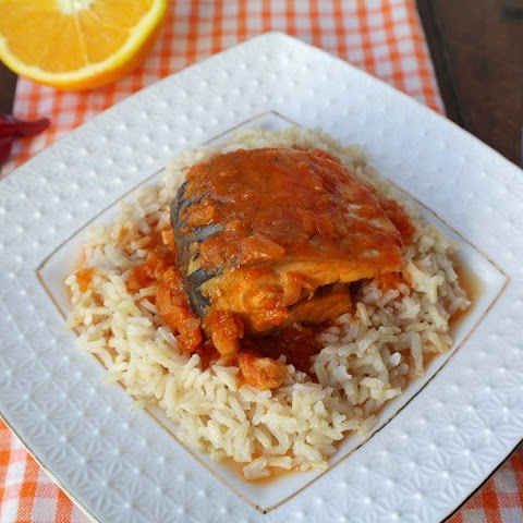 Mackerel In Tomato-Orange Sauce