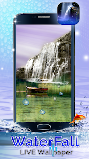 Waterfall Live Wallpaper - screenshot