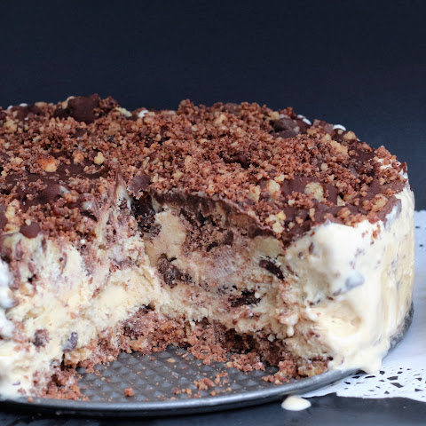 Triple Chocolate Chip Ice Cream Pie