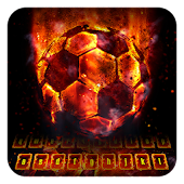 App Flame Soccer Keyboard 10001001 APK for iPhone