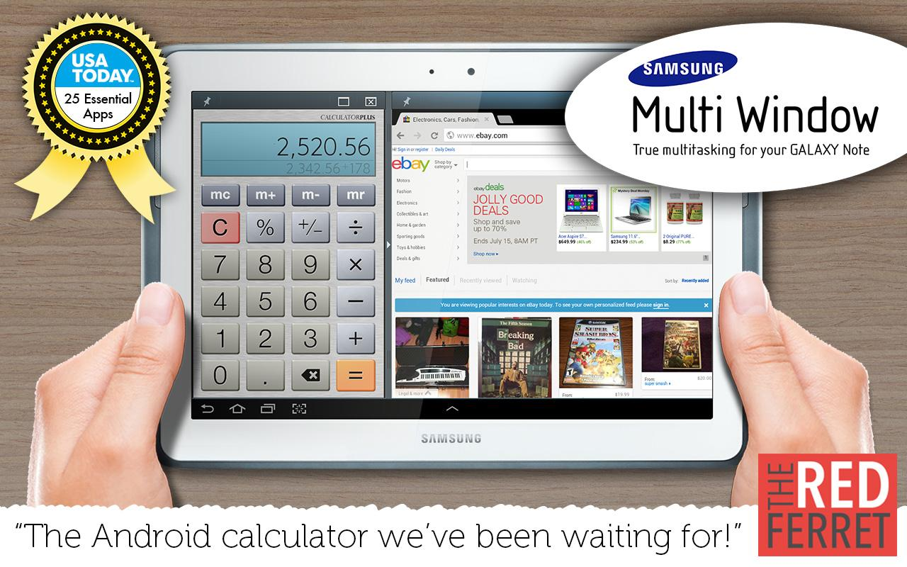 Calculator Plus Screenshot 4