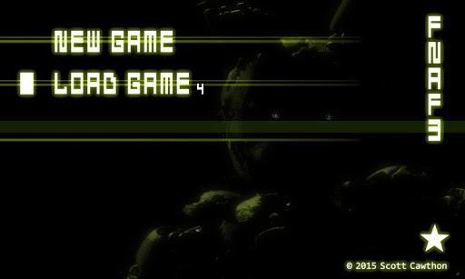 Five Nights at Freddy's 3 Demo screenshot 1