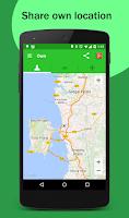 Screenshot of GPS Mobile Tracker