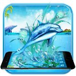 Dolphin Aquarium Theme Icon