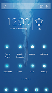 Florescent Theme - screenshot