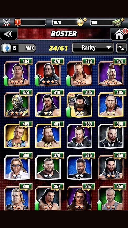 WWE Champions Free Puzzle RPG Screenshot 6