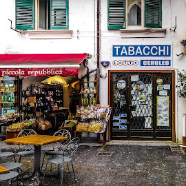 Amalfi in the rain. March 18 by Italo Coletta - City,  Street & Park  Street Scenes