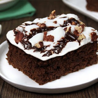 Low-Calorie Mississippi Mud Pie Brownies