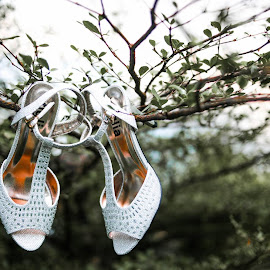 The bride's shoe by Red Coda - Wedding Bride