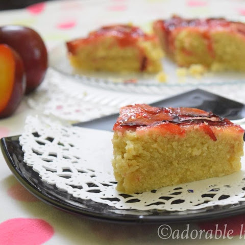 "100th Post-"" Red Plum Cake"""