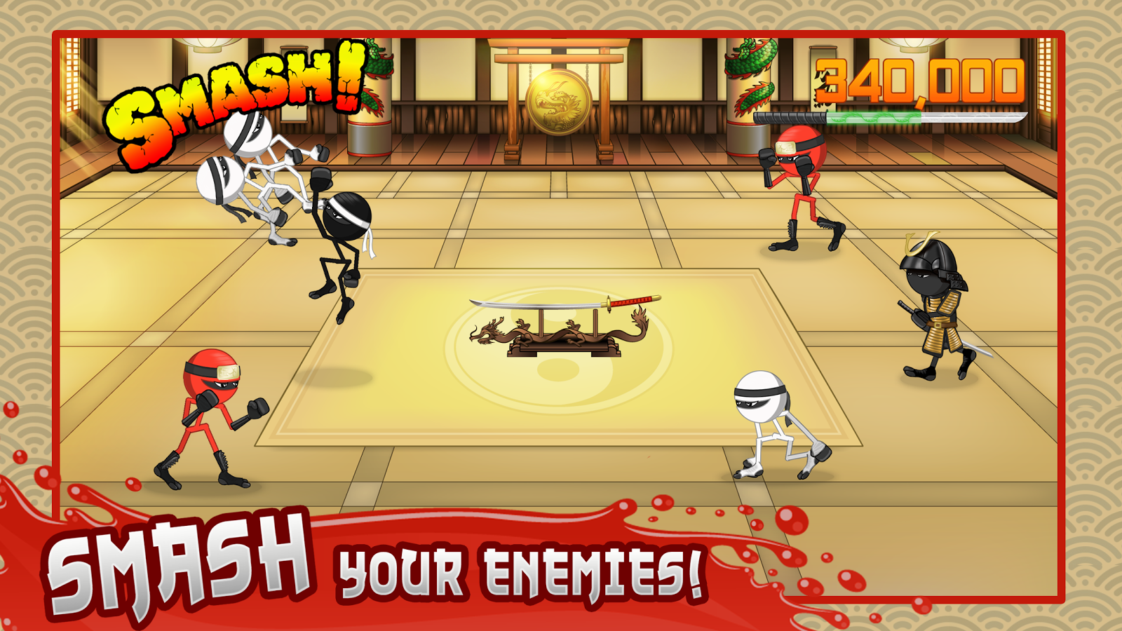 Stickninja Smash Screenshot 0