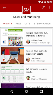 Microsoft SharePoint (Unreleased) screenshot
