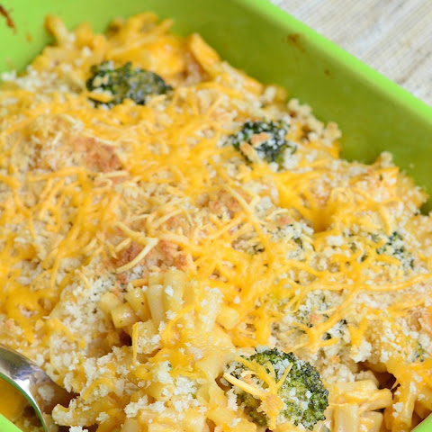Chicken Ranch Macaroni and Cheese Casserole