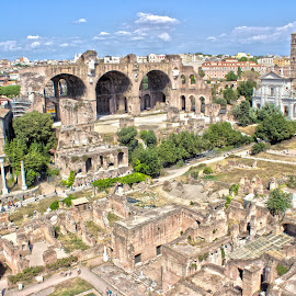 Roman Forum by Alin Gavriluta - City,  Street & Park  Historic Districts